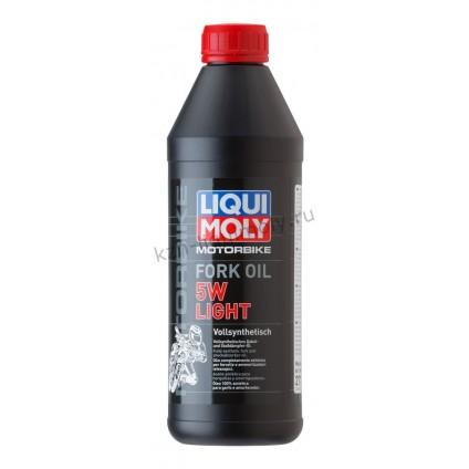 Синтетическое масло для вилок и амортизаторов Motorbike Fork Oil Light 5W 1Л