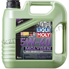 НС-синтетическое моторное масло Molygen New Generation 5W-40 4Л