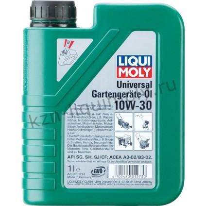 Минеральное моторное масло для газонокосилок Universal 4-Takt Gartengerate-Oil 10W-30 1Л