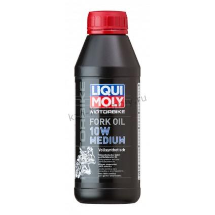 Синтетическое масло для вилок и амортизаторов Motorbike Fork Oil Medium 10W 0,5Л