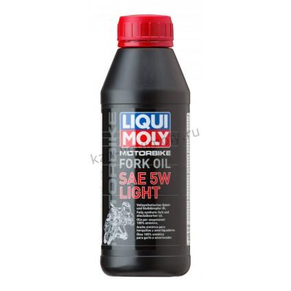Синтетическое масло для вилок и амортизаторов Motorbike Fork Oil Light 5W 0,5Л