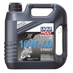 НС-синтетическое моторное масло для 4-тактных мотоциклов Motorbike 4T Street 10W-40 4Л