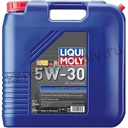 НС-синтетическое моторное масло Optimal Synth 5W-30 20Л