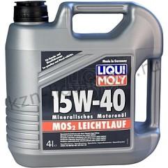 Минеральное моторное масло MoS2 Leichtlauf 15W-40 4Л