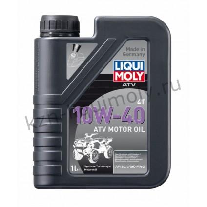 НС-синтетическое моторное масло для 4-тактных мотоциклов ATV 4T Motoroil Offroad 10W-40 1Л