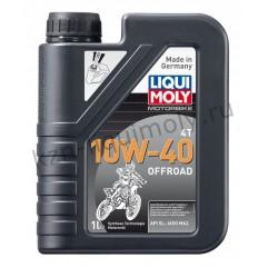 НС-синтетическое моторное масло для 4-тактных мотоциклов Motorbike 4T Offroad 10W-40 1Л