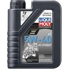 НС-синтетическое моторное масло для 4-тактных мотоциклов Motorbike 4T HC Street 5W-40 1Л