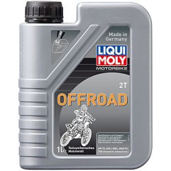 Полусинтетическое моторное масло для 2-тактных мотоциклов Motorbike 2T Offroad 1Л