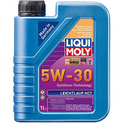 НС-синтетическое моторное масло Leichtlauf HC 7 5W-30 1Л