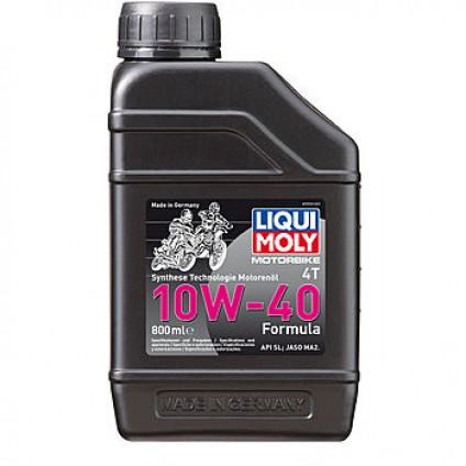 НС-синтетическое моторное масло для 4-тактных мотоциклов Motorbike 4T Formula 10W-40 0,8Л