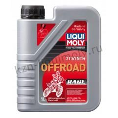 Синтетическое моторное масло для 2-тактных мотоциклов Motorbike 2T Synth Offroad Race 1Л