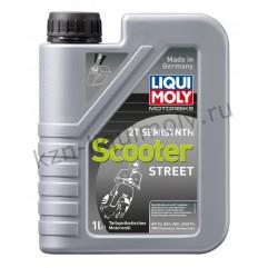 Полусинтетическое моторное масло для скутеров Motorbike 2T Semisynth Scooter 1Л