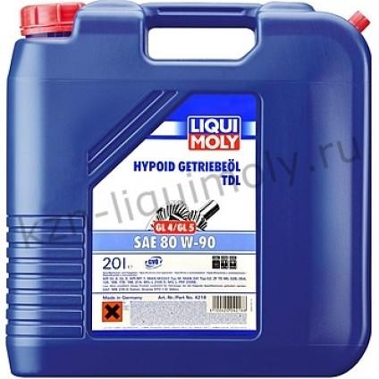 Минеральное трансмиссионное масло Hypoid-Getriebeoil TDL 80W-90 20Л