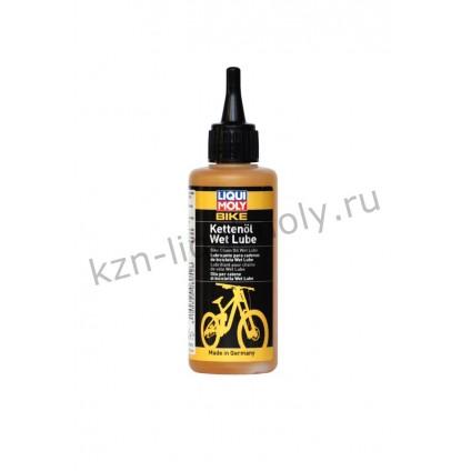 Смазка для цепи велосипедов (дождь/снег) Bike Kettenoil Wet Lube 0,1Л