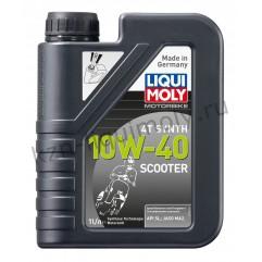 НС-синтетическое моторное масло для скутеров Scooter Motoroil Synth 4T 10W-40 1Л
