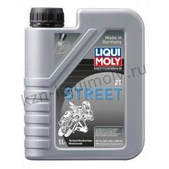 Полусинтетическое моторное масло для 2-тактных мотоциклов Motorbike 2T Street 1Л