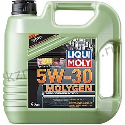 НС-синтетическое моторное масло Molygen New Generation 5W-30 4Л